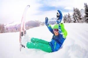 Spaß auf Skifreizeit und Skicamps beim Wintersport
