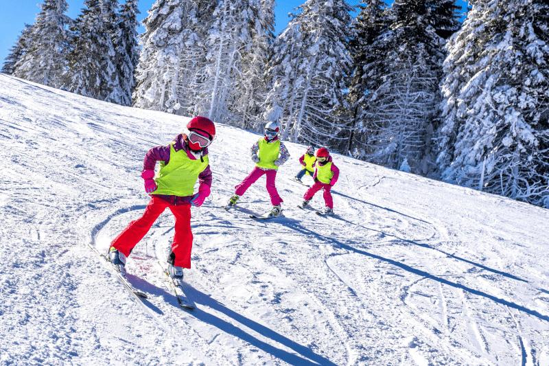 Skifreizeit für Klassen