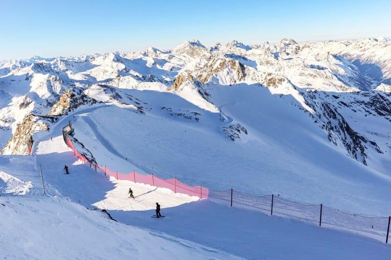 Übersicht der Skigebiete