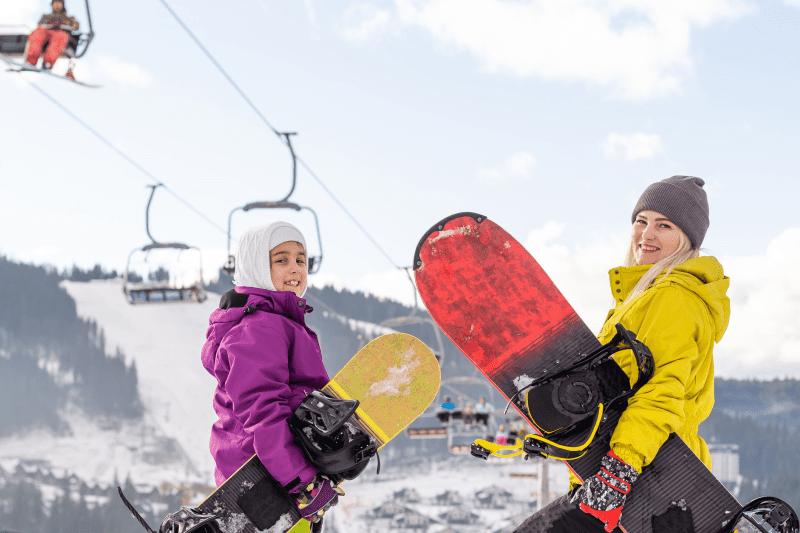 Snowboardcamps für Kinder