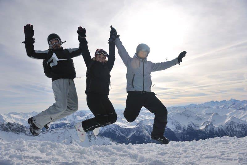 Wintersport für Erwachsene