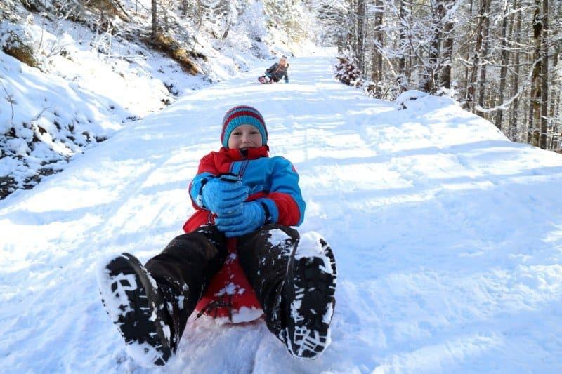 Wintersport für Kinder